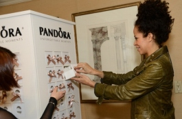 Sherri Saum at HBO Luxury Lounge Featuring PANDORA Jewelry - Day 1, January 11, 2014