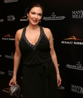 "Laura Harring at ""The Tramp"" 100th Anniversary Dinner Celebration, February 27, 2014"
